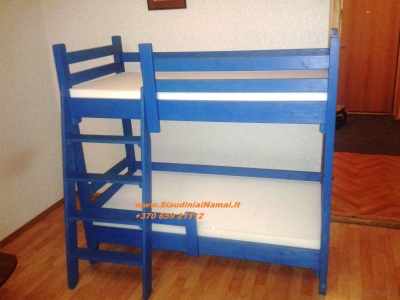 Vaikiškos lovytės, dviaukštės lovos