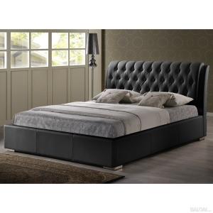 Prabangaus dizaino dvigulė miegamojo lova Boston