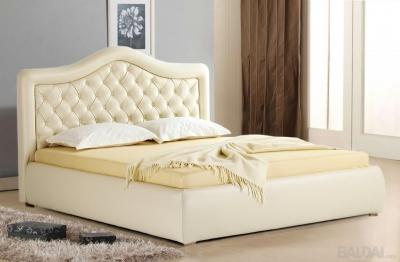 Išskirtinio dizaino dvigulė lova Hemera