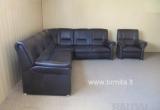 "Vokiškas kampas +fotelis ""Lana"" www.bramita.lt"