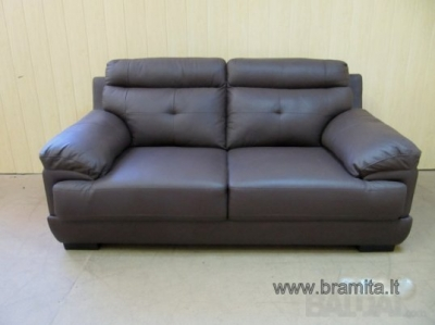 "Sofa ""RABAT"" naturalios odos vokiška sofa www.bramita.lt"