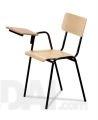 "Kėdė ""Panda"" su fanera ir su porankiu"