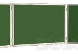 Trijų dalių žalia magnetinė lenta