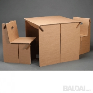 """""""Ekoko"""" staliukas su kėdutėmis"""