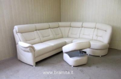 "Vokiškas kampas +pufas ""Saranko "" www.bramita.lt"