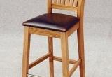 Ąžuolinė baro kėdė