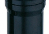 Žibintuvėlis aliuminio korpuso 9xLED, juodas