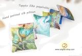 Tapytos šilko pagalvėlės / Latingė
