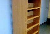 Dvipusė bibliotekos lentyna