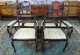 Keturios senovinės kėdės
