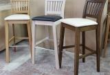 Ąžuolinės baro ir pusbario kėdės