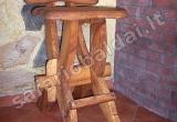 Kaimiška baro kėdė