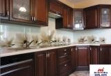 Virtuvės su laminuotu stiklu