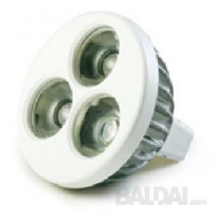 LED Lemputė 3W