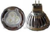 Lemputė MR16 3x1W LED