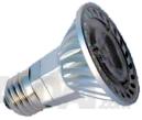 Lemputė PAR20 3x2W LED