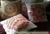 Tapytos lino pagalvėlės dekoratyvinės