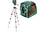 Kryžminių linijų lazeris Bosch PCL 10 (su stovu)