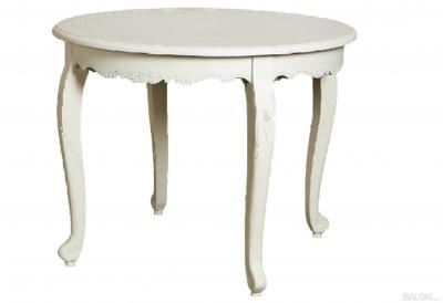 Apvalus pietų stalas (išskleidžiamas) Louis 1-2 CW