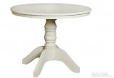 Apvalus pietų stalas (išskleidžiamas) Louis 11 LW