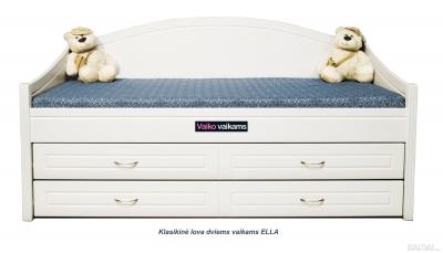 Klasikinė lova dviems vaikams ELLA
