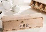 Medinė dėžutė arbatai
