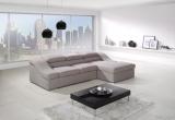 Kampinė sofa su miegojimo mechanizmu (Gobelenas)