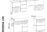 Virtuvės komplektas ABA1 (220)