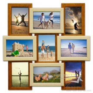 Marga foto rėmelių mozaika