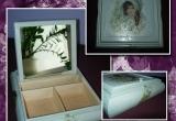 Papuošalų dėžutė su veidrodžiu