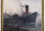 "Paveikslas ""Uostas"" (H.J.Pauwels, Belgija)"