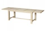Pietų stalas su dviem prailginimais