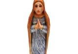 Šventoji mergelė, vienetinė meninė skulptūra