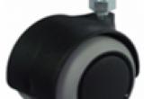 50 mm ratukas (netepa grindų) su varžtu M8