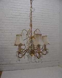 Rokoko stiliaus šviestuvas