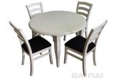 S3 kėdės ir apvalus stalas
