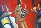 """Paveikslas """"Saksofonistas"""""""