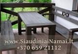 Lauko baldai Alkuva