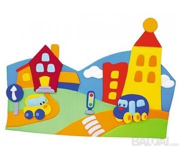 Sienos dekoracija - Miestas