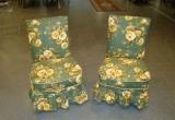 2 skandinaviškos kėdutės