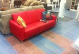 Odinė sofa su miegama dalimi