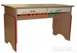 Reguliuojamo aukščio staliukas su dviem stalčiais