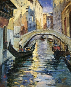 """Paveikslas """"Venecijoje"""""""