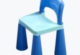 Kėdutė prie baldų komplekto, mėlyna