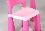 Kėdutė prie baldų komplekto, rožinė