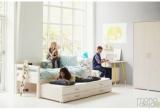 Žemos lovos dviems vaikams Flexa